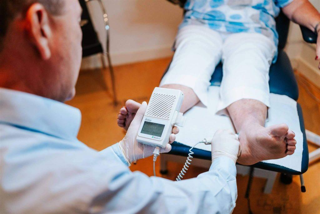Podiatry Illawarra anthony using ultrasound