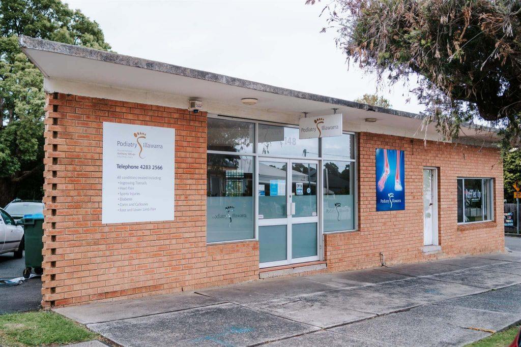 Podiatry Illawarra building exterior